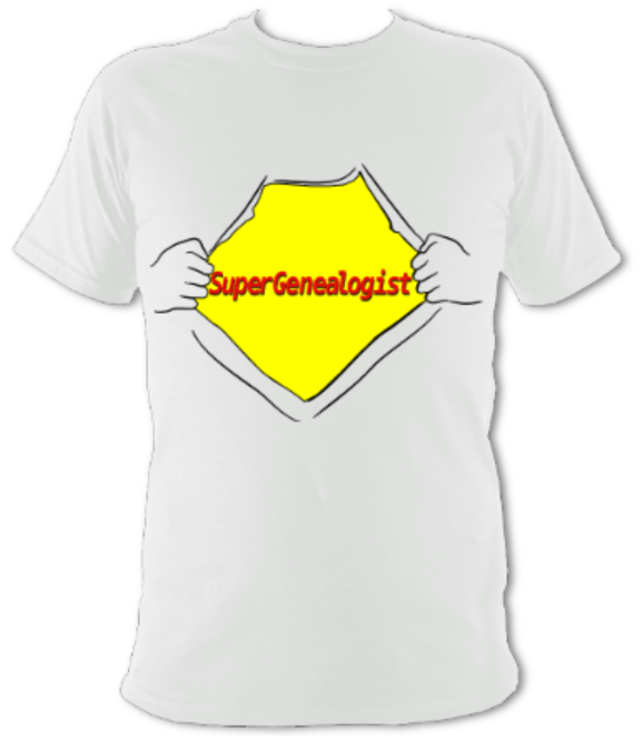 SuperGenealogist Unisex T-shirt